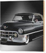 1951 Cadillac Series 62 Convertible Wood Print