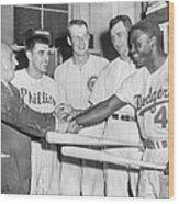 1952 All-star Game American League V 1952 Wood Print