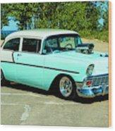 1956 Chevrolet Custom Model 2010  Wood Print