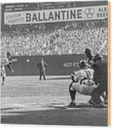 1956 World Series - Game 5  Brooklyn Wood Print