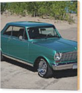 1963 Chevrolet Nova Ss Wood Print
