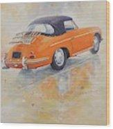 1965 Porsche 356 C Wood Print