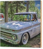 1966 Chevrolet C10 Pickup Truck Wood Print