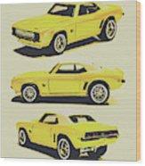 1969 Camaro Wood Print