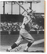 National Baseball Hall Of Fame Library 197 Wood Print