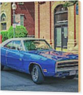 1970 Dodge Charger R/t Wood Print