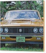 1970 Ford Torino Gt Wood Print