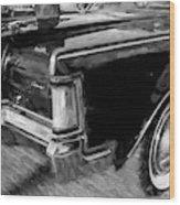 1971 Lincoln Continental Mark IIi Bw 105 Wood Print