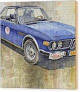 1972 Bmw 3.0 Csi Coupe  Wood Print