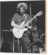 1977, Atlanta, Jerry Garcia Wood Print