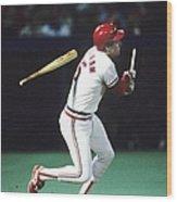 1987 World Series Minnesota Twins V St Wood Print