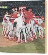 1990 World Series - Game 4  Cincinnati Wood Print