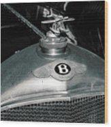 1928 Bentley 4 1/2 Litre Parkward Saloon Wood Print