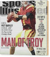 2012 College Football Preview Issue Sports Illustrated Cover Wood Print