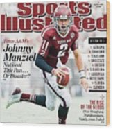 2013 College Football Preview Issue Sports Illustrated Cover Wood Print