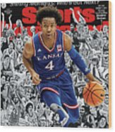 2018 March Madness College Basketball Preview Issue Sports Illustrated Cover Wood Print