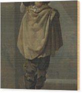 A Standing Man  Wood Print