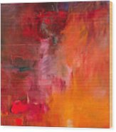 Abstract Oil Painting Background. Oil 2 Wood Print