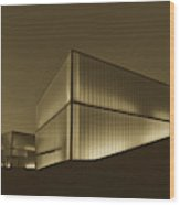 An Evening At The Nelson - Atkins Art Museum Wood Print