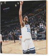 Atlanta Hawks V Minnesota Timberwolves Wood Print
