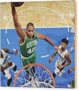 Boston Celtics V Orlando Magic 2 Wood Print