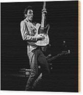 Bruce Springsteen Live Wood Print