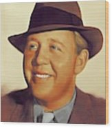 Charles Laughton, Vintage Actor Wood Print