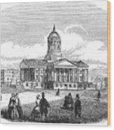Charleston, 1857 Wood Print