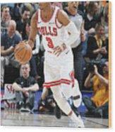 Chicago Bulls V Utah Jazz Wood Print