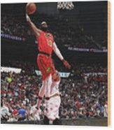 Cleveland Cavaliers V Atlanta Hawks Wood Print