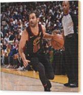 Cleveland Cavaliers V Golden State Wood Print