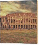 Colosseo, Rome Wood Print
