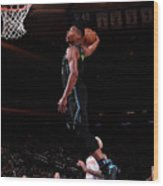Dallas Mavericks V New York Knicks Wood Print