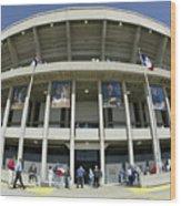 Detroit Tigers V Kansas City Royals Wood Print