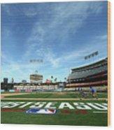 Division Series - St Louis Cardinals V Wood Print