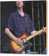 Drive By Truckers Mike Cooley Wood Print