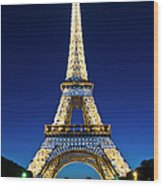 Eiffel Tower, Paris, France Wood Print