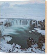 Godafoss - Iceland Wood Print