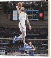 Golden State Warriors V Dallas Mavericks Wood Print