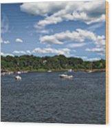 Greenwich Bay Wood Print