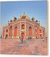 Humayuns Tomb, New Delhi Wood Print