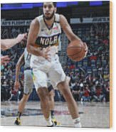 Indiana Pacers V New Orleans Pelicans Wood Print