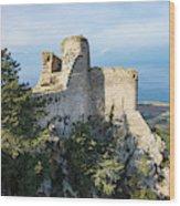 Kantara Castle, Cyprus Wood Print