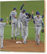 League Championship - Kansas City Wood Print