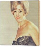 Liz Fraser, Vintage Actress Wood Print