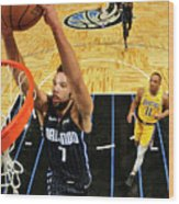 Los Angeles Lakers V Orlando Magic Wood Print