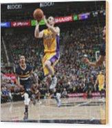 Los Angeles Lakers V Utah Jazz Wood Print