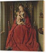 Lucca Madonna Wood Print