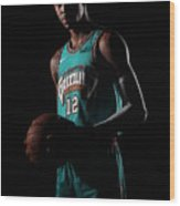 Memphis Grizzlies Portrait Shoot In Wood Print