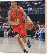 Memphis Grizzlies V Atlanta Hawks Wood Print